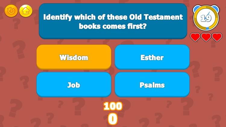 The Bible Trivia Challenge screenshot-3
