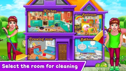 Baby Girl Home Cleaning screenshot 1