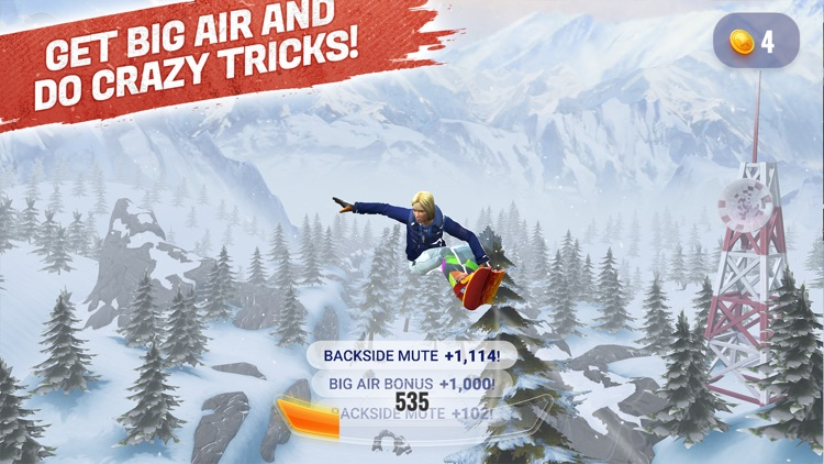 Peak Rider Snowboarding screenshot-1