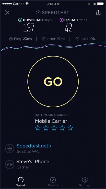Speedtest by Ookla screenshot-3