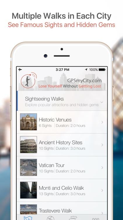 Rome Map and Walks screenshot-0