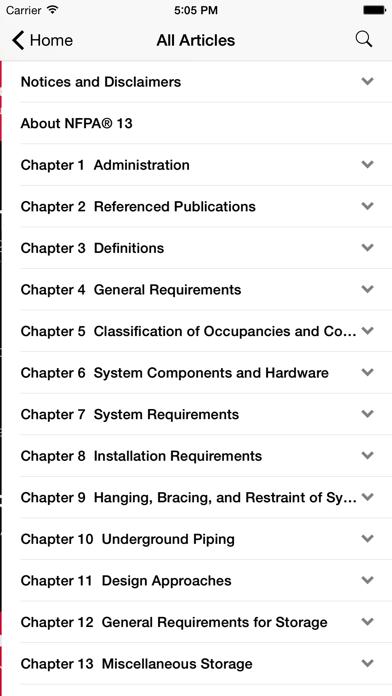 NFPA 13 2010 Edition Screenshot