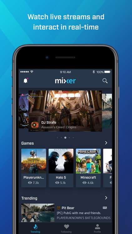 Mixer - Interactive Streaming