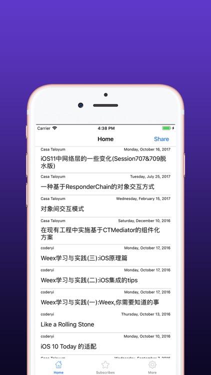 132iReader-rss&feed screenshot-3