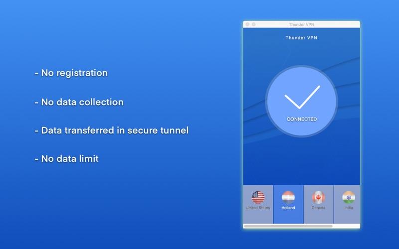 Thunder VPN Screenshot - 2