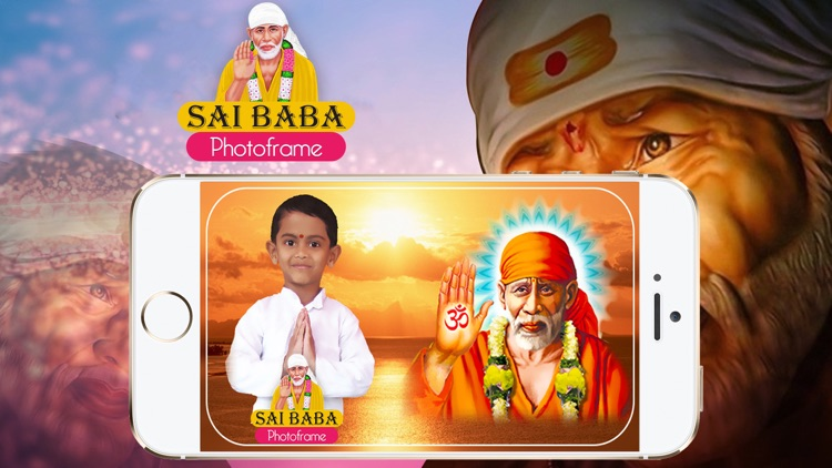 Sai Baba Photo Frames screenshot-4