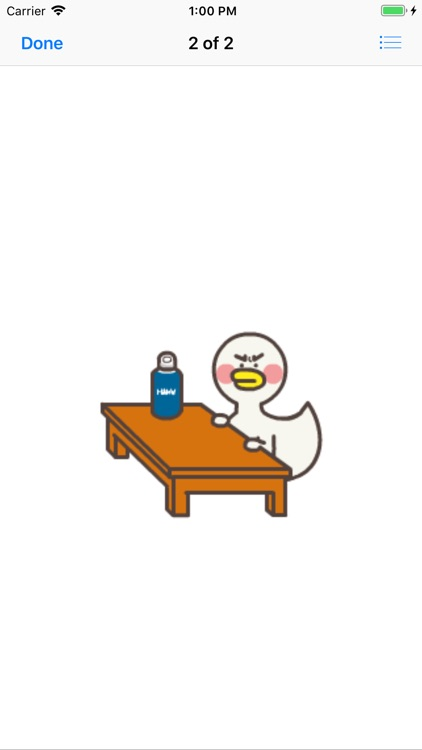 Cute Duck Sticker