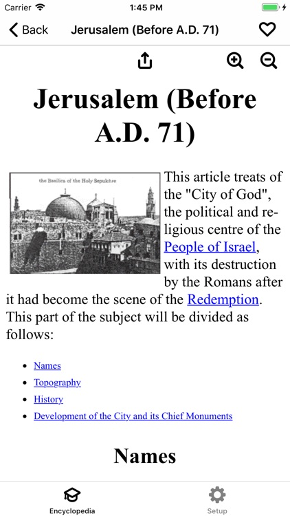 Catholic Encyclopedia Offline screenshot-0