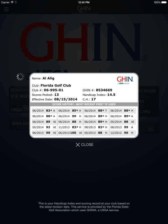 Ghin Mobile On The App Store