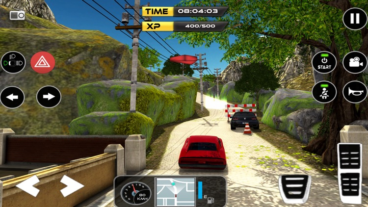 Classic Car Driving & Parking screenshot-4