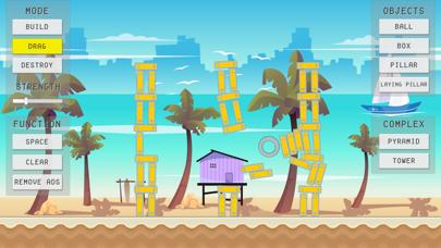 Physics Sandbox Beach screenshot one