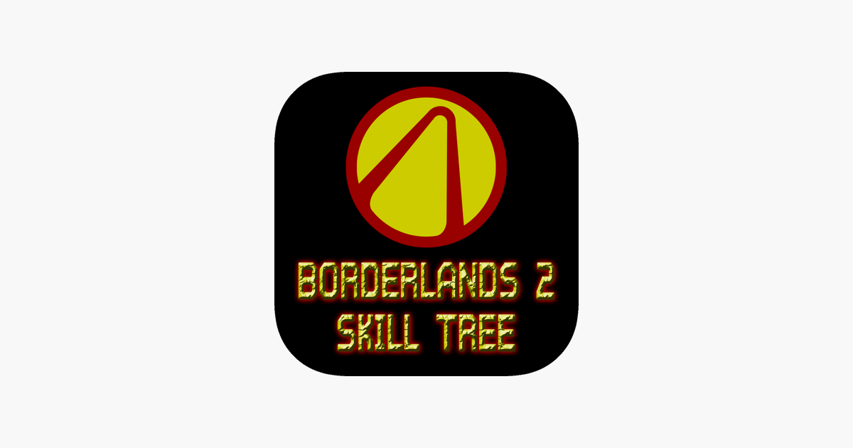 Skill Tree For Borderlands 2 Im App Store