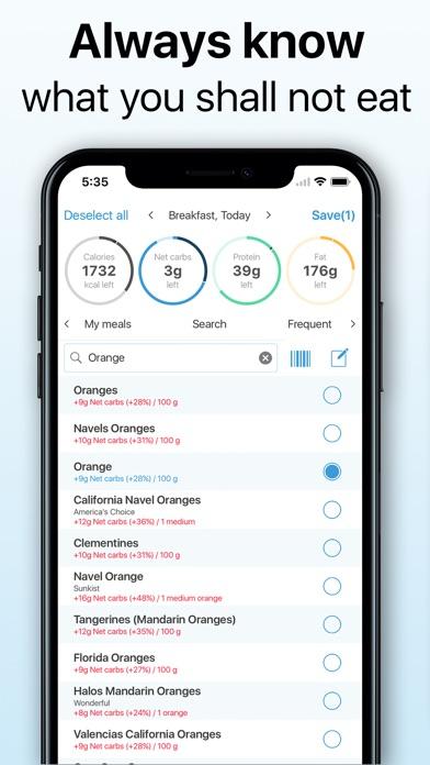 Keto Diet Tracker app image