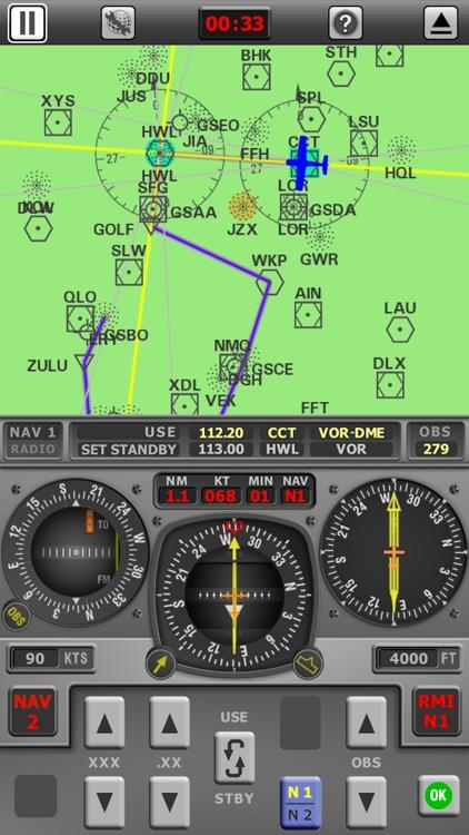 Radio Navigation Simulator IFR screenshot-4