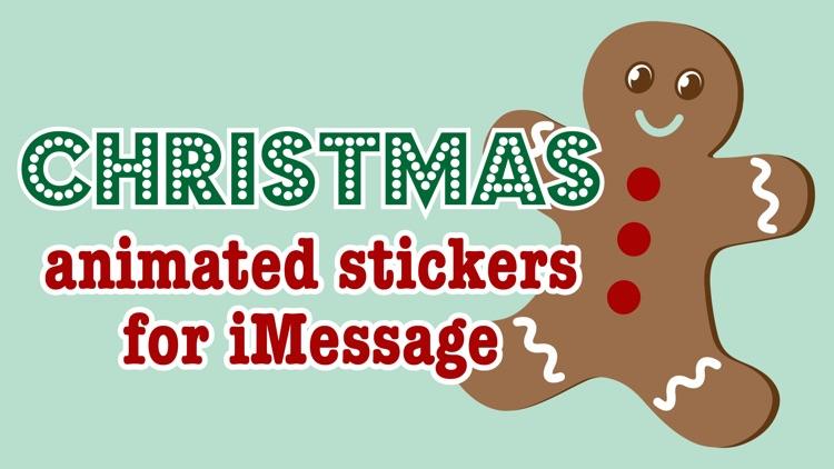 Christmas - Animated Stickers screenshot-6
