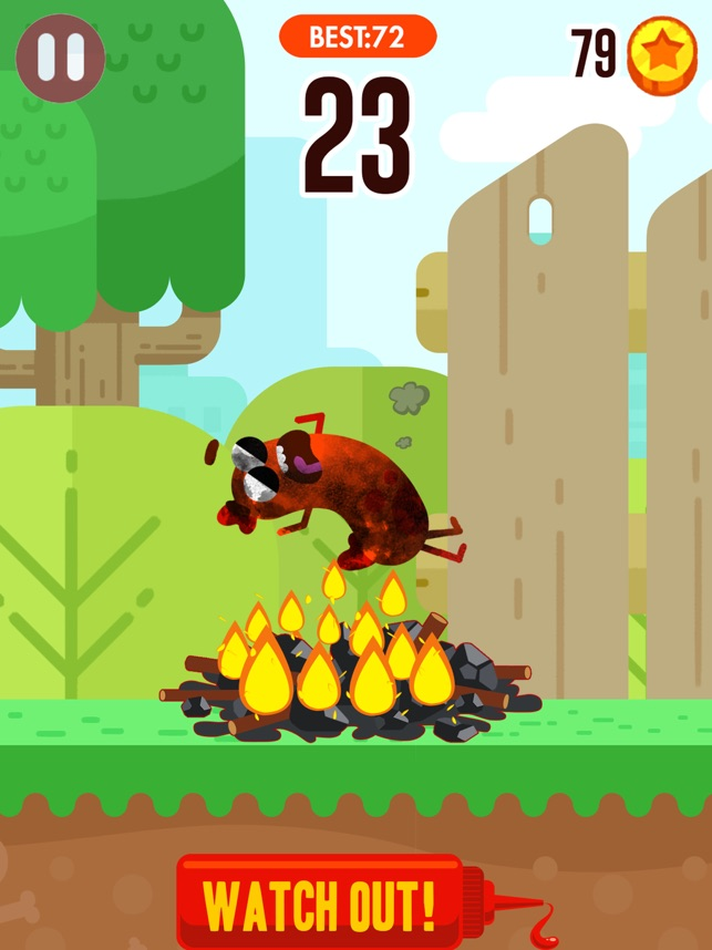 Run Sausage Run on the App