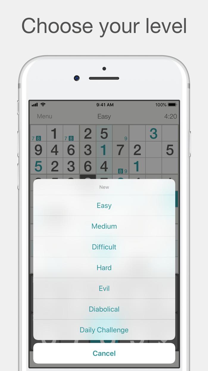 Sudoku′ Screenshot