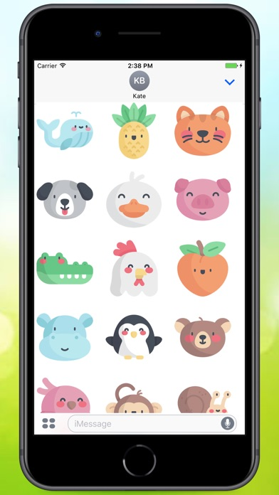 Screenshot for Sweety Sweety Stickers in Colombia App Store