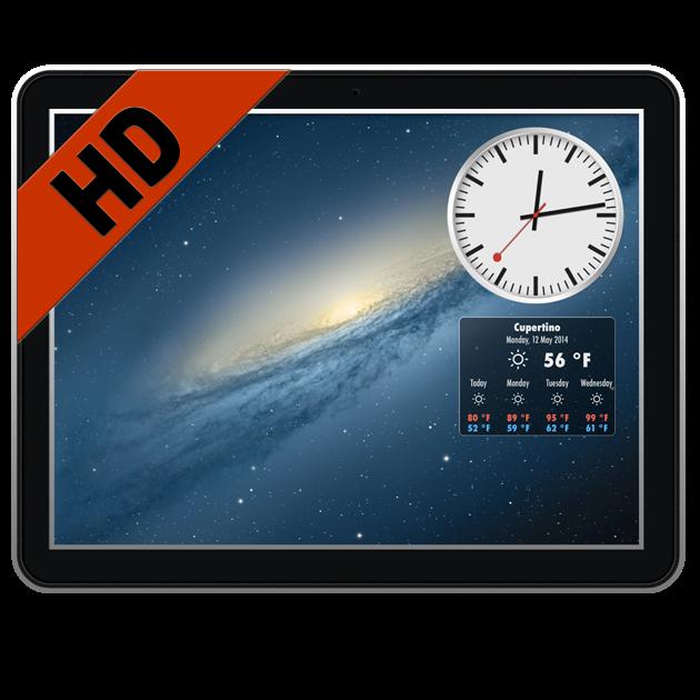 Live Hintergründe HD & Wetter im Mac App Store