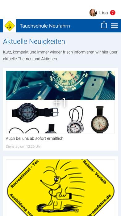 Tauchschule Neufahrn screenshot 1