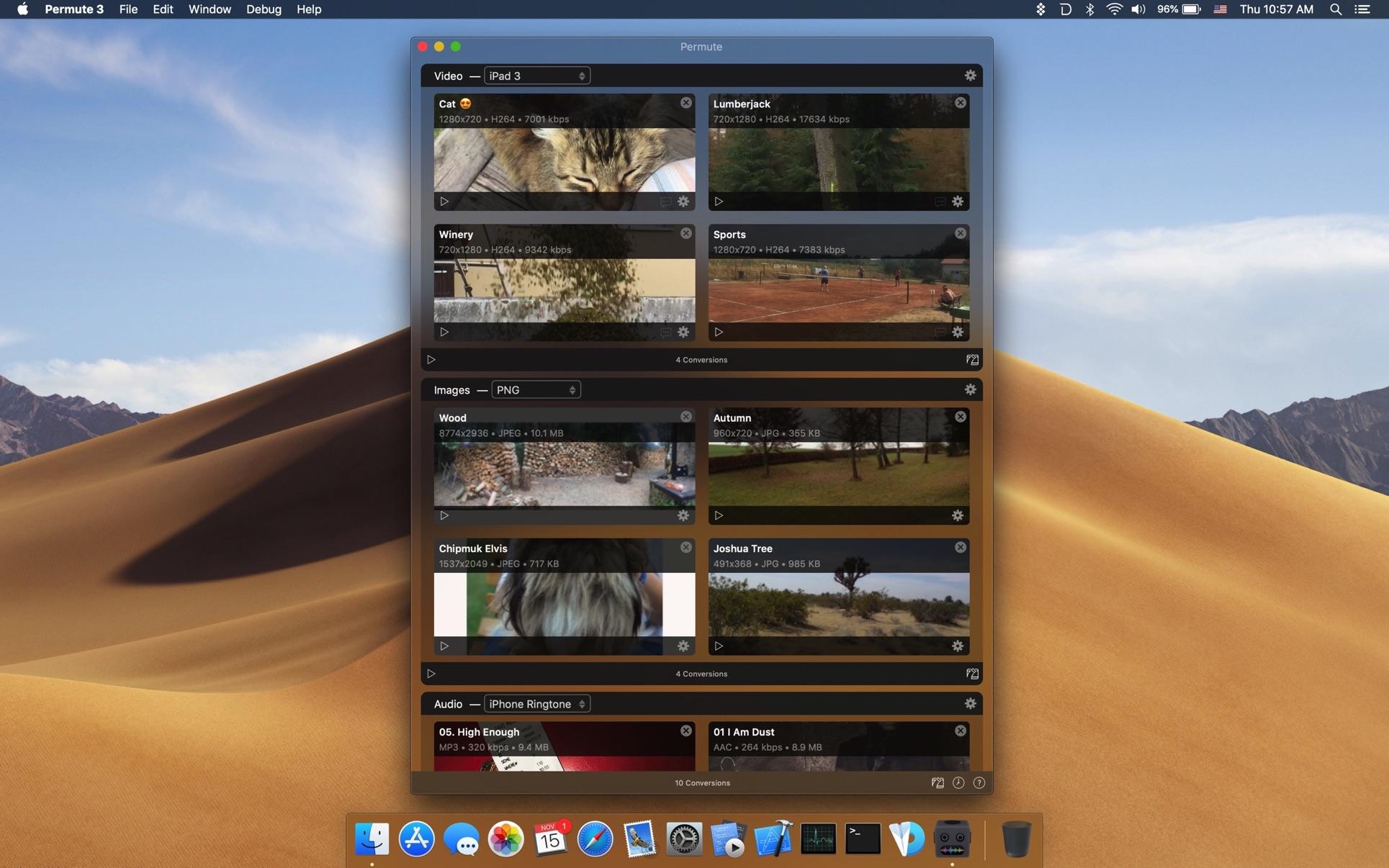 Permute Mac 破解版 Mac上优秀的视频音频转换工具-麦氪派