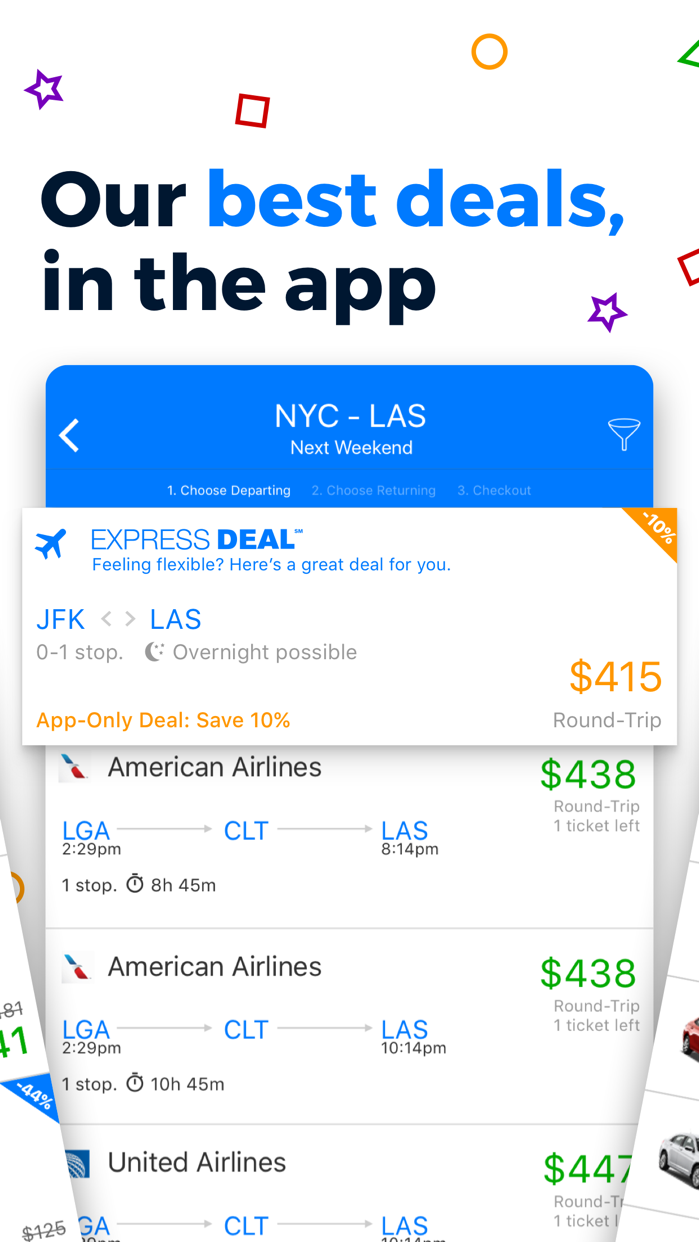 Priceline Hotel & Travel Deals Screenshot