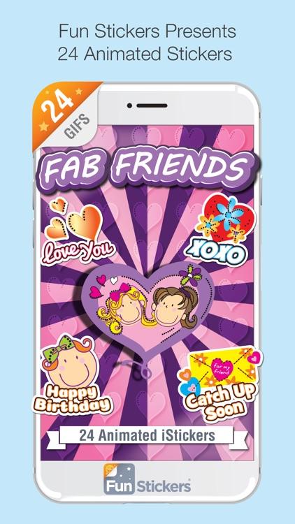 Fab Friends iSticker