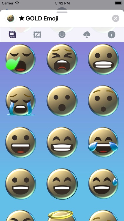 GOLD Emoji • Stickers screenshot-3