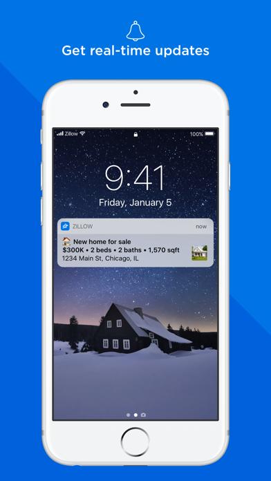 Screenshot 3 for Zillow's iPhone app'