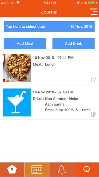 Our Dietitian screenshot four