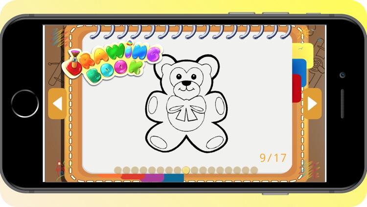 Teddy Bear Coloring Book screenshot-3