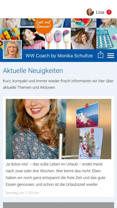 WW Coach by Monika Schultze screenshot 1
