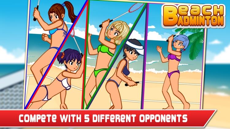 Beach Badminton