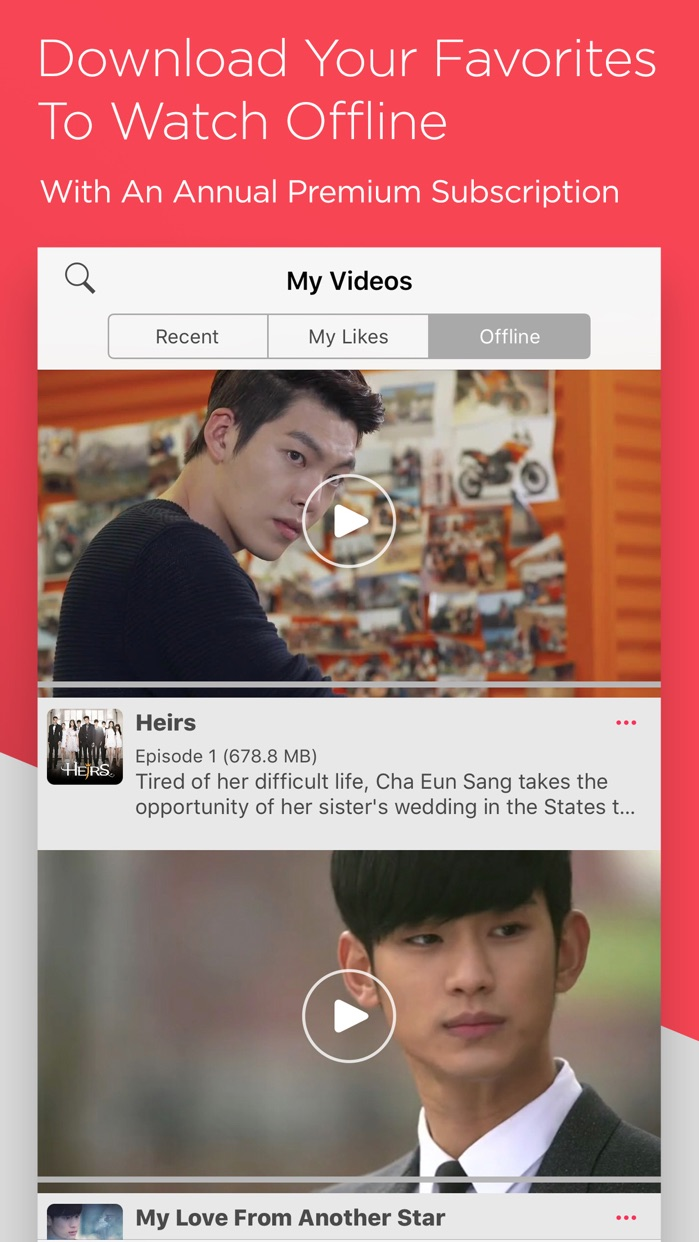 DramaFever - Stream Your Shows Screenshot