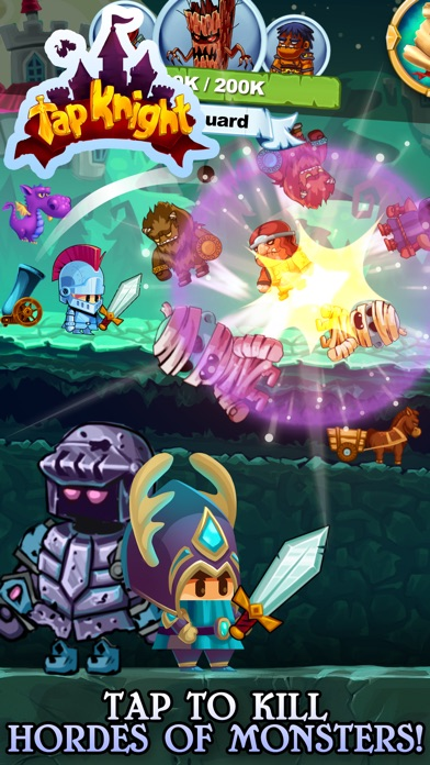 Screenshot 2 Tap Knight - RPG Idle-Clicker