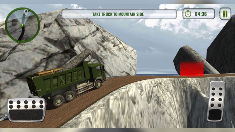 Army Truck Driving Simulator screenshot-1