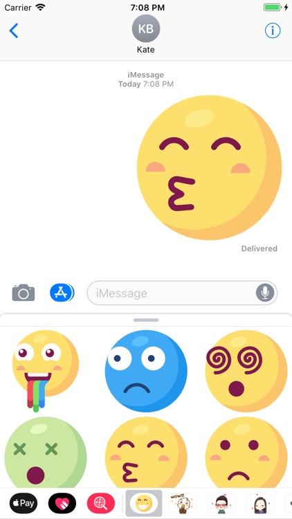 Big Emoji: 50 Big Stickers