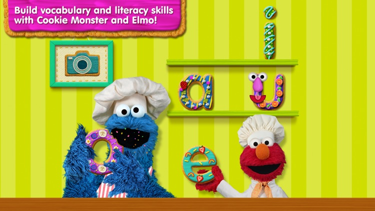Sesame Street Alphabet Kitchen screenshot-0