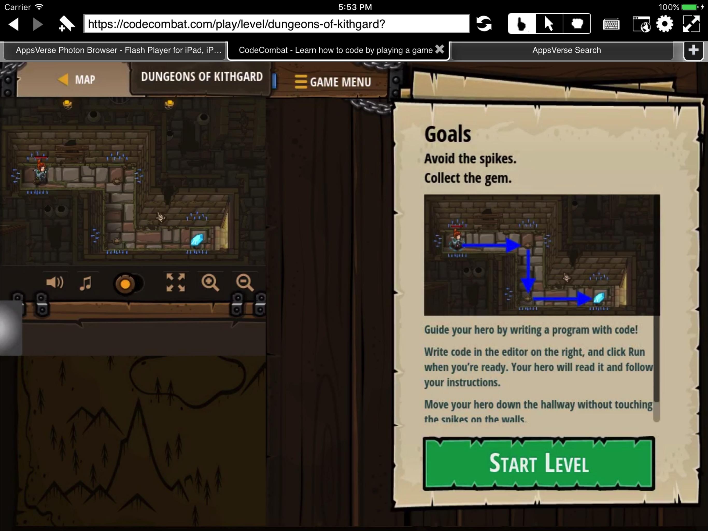 Flash Player + navegador web para iPad por Photon Screenshot