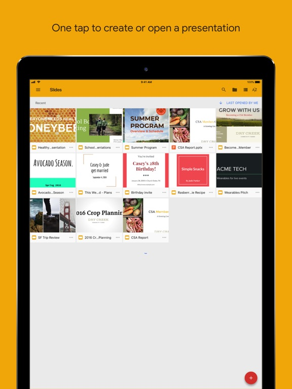 google slides app price drops