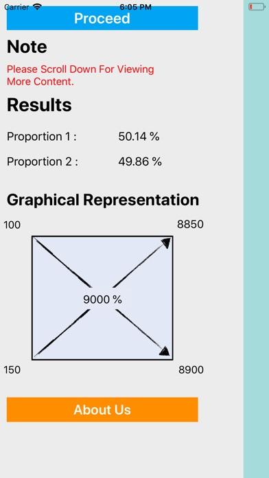 Pearson Square Calculation screenshot 4