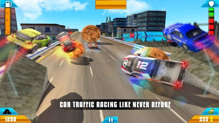 Car Game Crash Survival Race screenshot-3