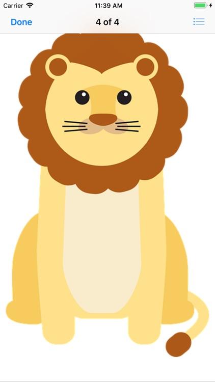 Lion Stickers screenshot-7