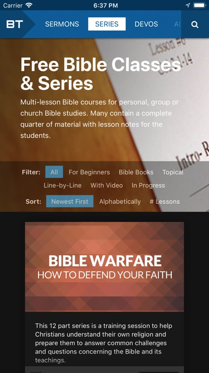 BibleTalk.tv screenshot-3