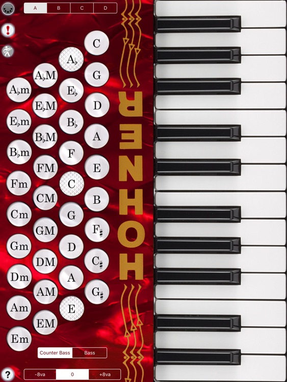 Hohner MIDI Piano Accordion screenshot-1