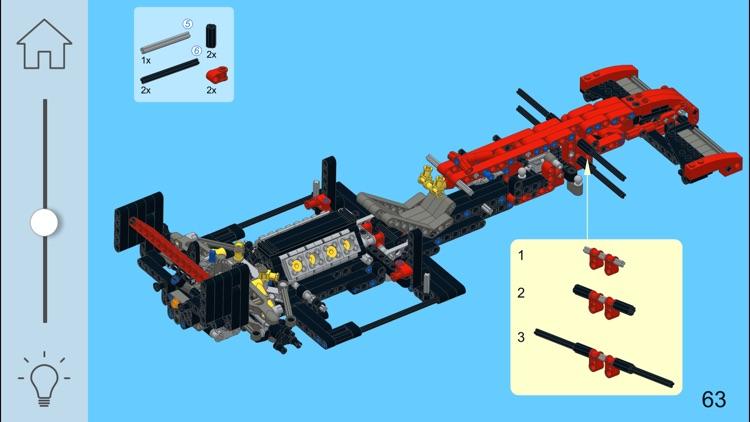 F2000 Racer For Lego 8070 Set By Sergey Slobodenyuk