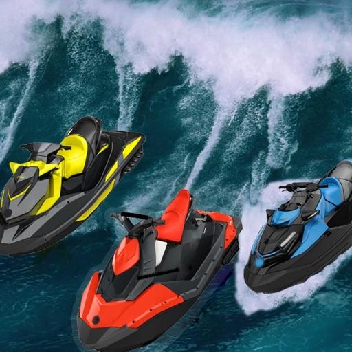 Fun racing games - jetski boat