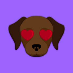 Animated Dark Chocolate Lab