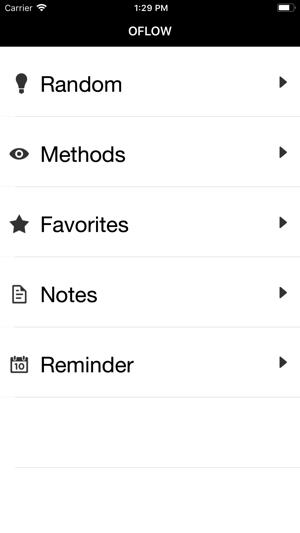Oflow - For Creative Ideas Screenshot