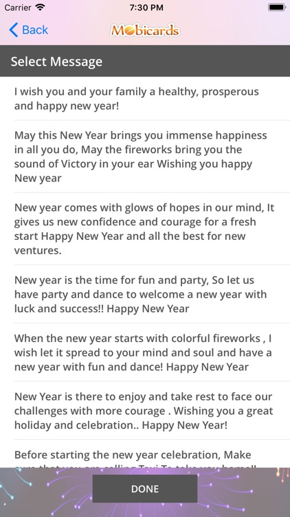 New Year eCard & Photo e-Cards by Rapidsoft Systems
